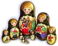 Русские сувениры матрешки