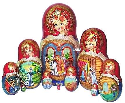 Русские матрешки сувениры подарки